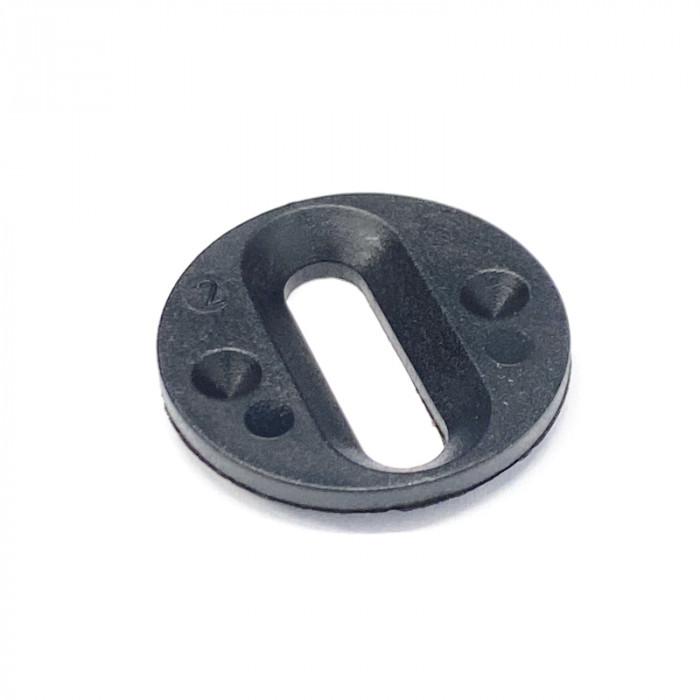 Schroefschijf inzetstuk voor Aluminium Fits4All schoenenplaten
