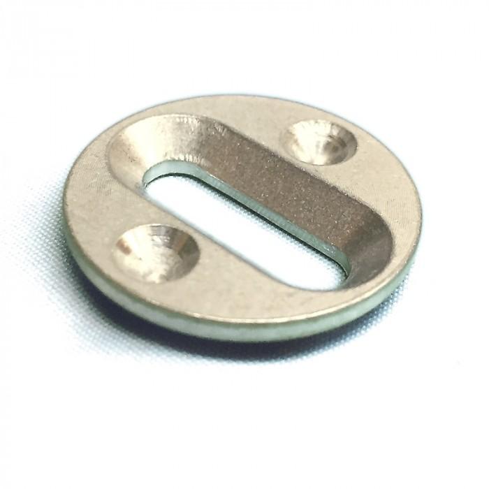Schroefschijf inzetstuk voor Aluminium schoenenplaat Fits4All