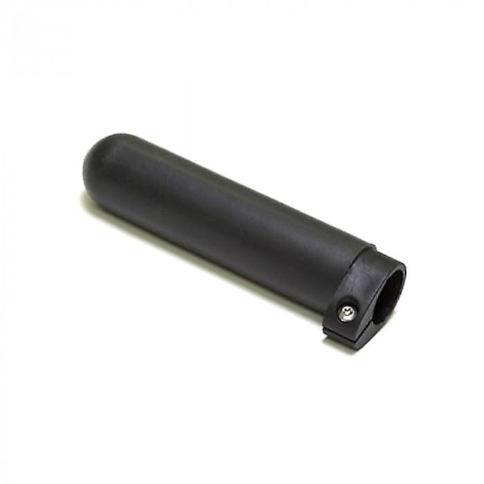 Concept 2 verstelbaar handvat, zwart glad rubber, voor scull en Skinny boordriemen