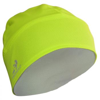 Knit Omkeerbare Beanie muts-hi viz yellow/Graphite/