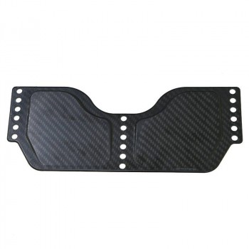 Empacher carbon shoe plate, fixed wedge angle