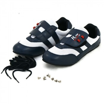 H2Row rowing shoes with laces and screws