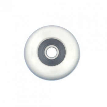 Single action wheel Ø34 mm white, for single action seat in rowing boats