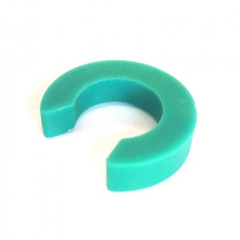 Green Eurow height clips 6 mm