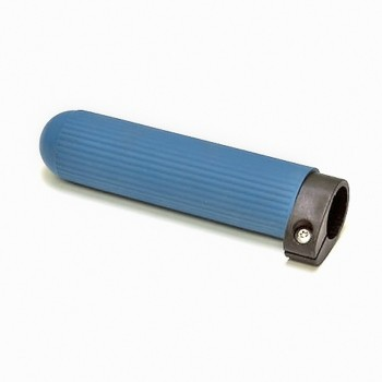 Concept 2 adjustable handle, dark blue ribbed rubber, for sculls and Skinny oars