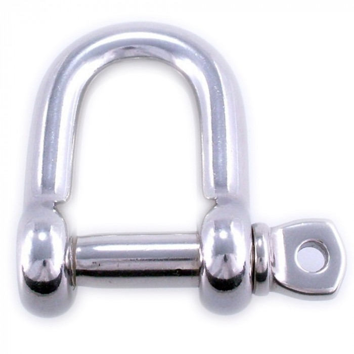 Forged shackle, Stainless