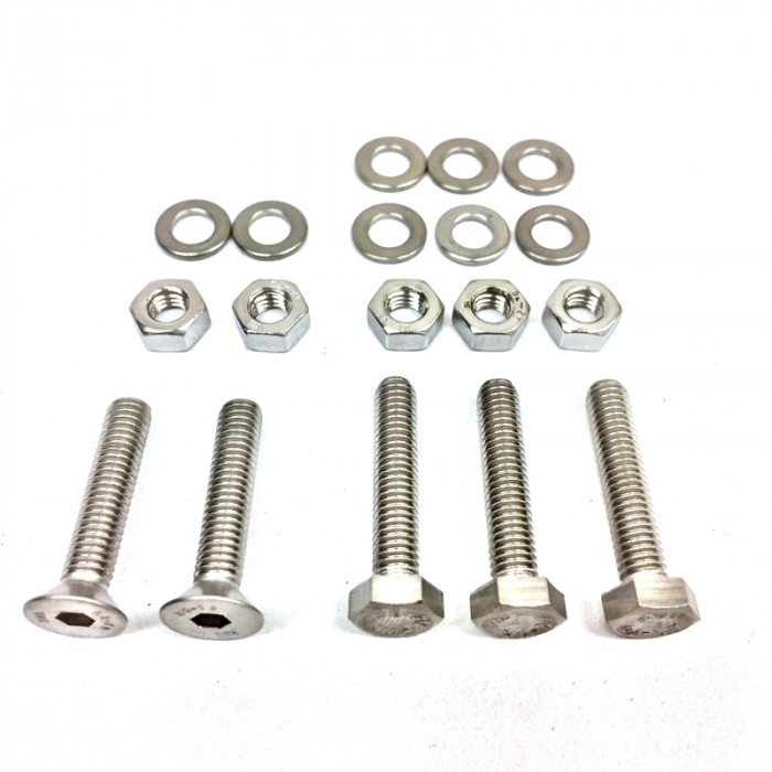 Fastening bolt kit for Empacher sweep wing rigger
