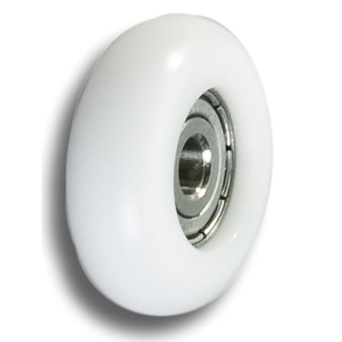 Empacher single action wheel 32 mm. white
