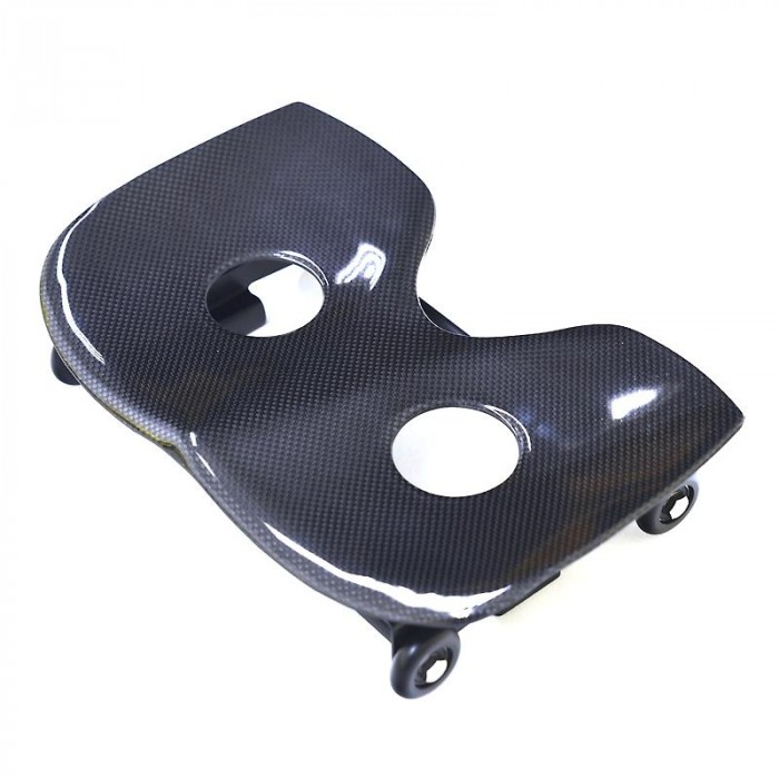 Complete single action seat narrow, carbon with holes