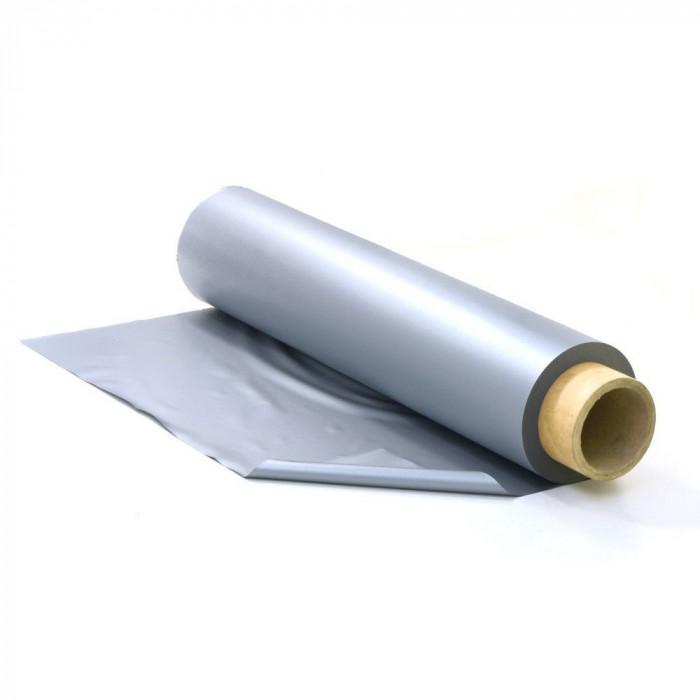 Canvas silver/grey, per meter