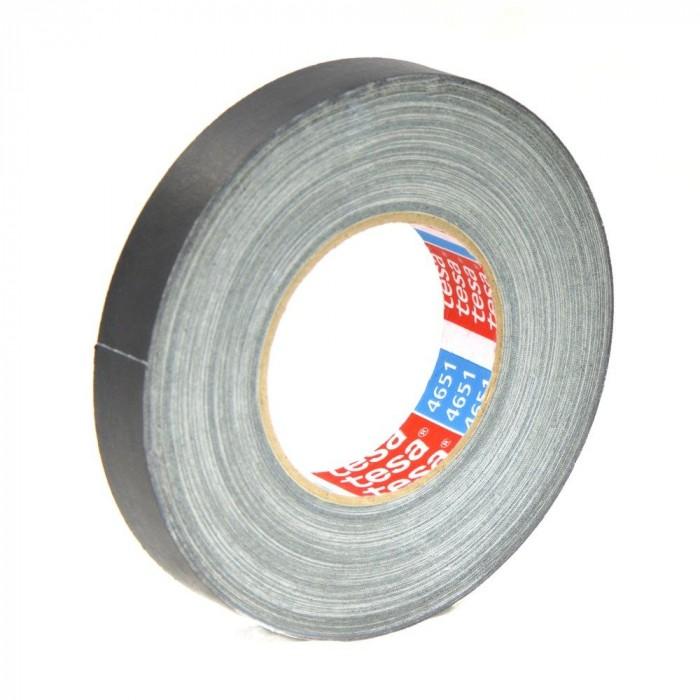 Tesa tape, cloth tape -Black
