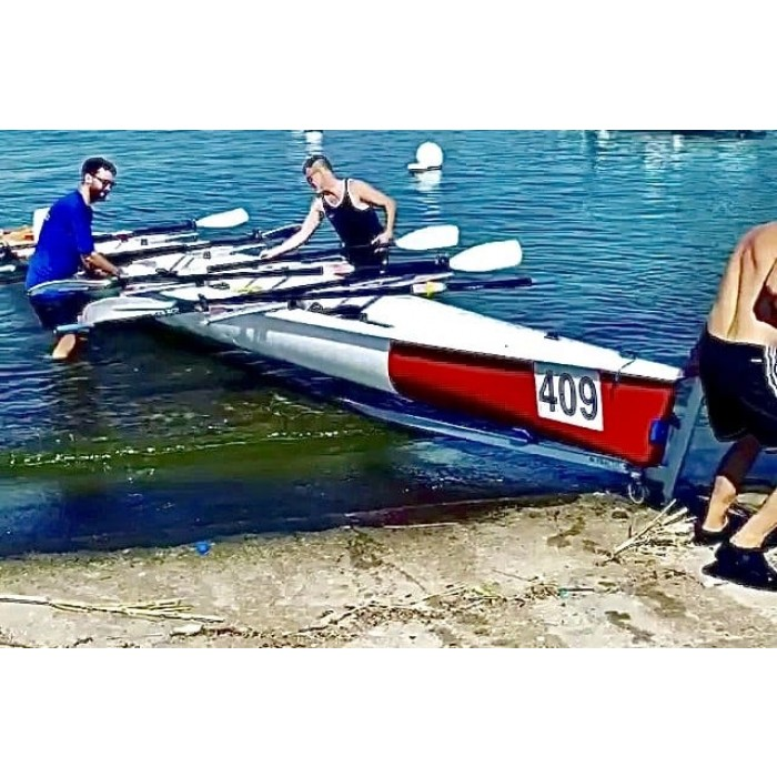 Coastal Rowing Trolley 4x