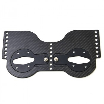 Empacher Carbon Shoe plate with angle adjustment