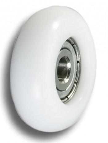 Empacher single action wheel 32 mm. white