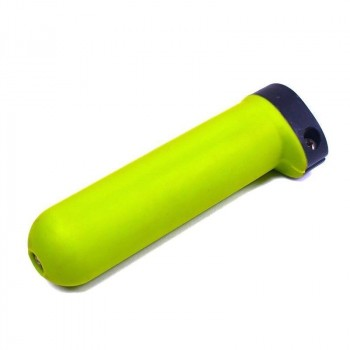 Ultralight green rubber grip
