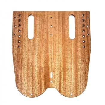 Foot stretcher board