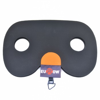 Woman's rowing seat grip-pad