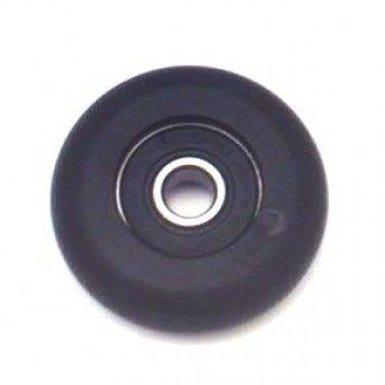 Single action wheel Ø33 mm. black