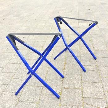 Flacher Klappbarer Bootsbock - Blau