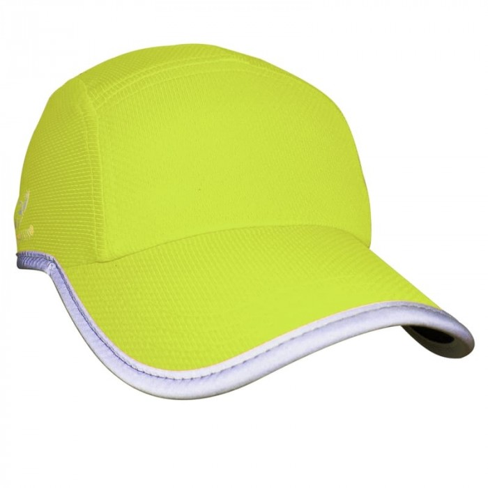 Reflective  Race Hat | Hi Vis Yellow