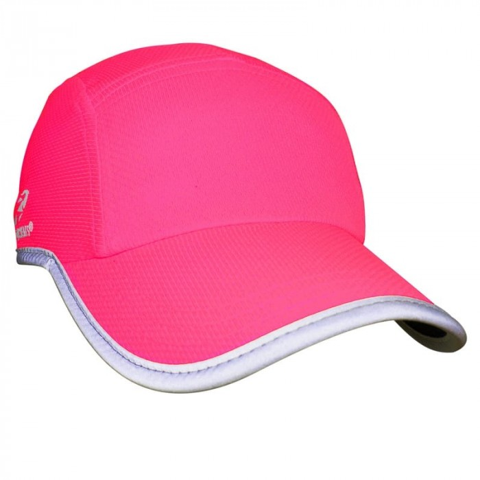 Women's Reflective Race Hat | Neon Pink