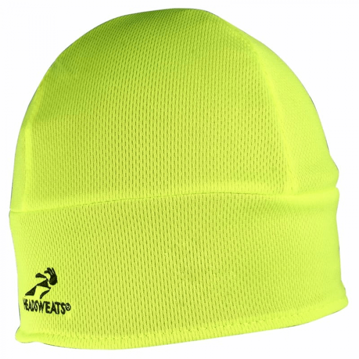 Headsweats Thermo Omkeerbare Beanie - Black/High Visable Yellow-swatch