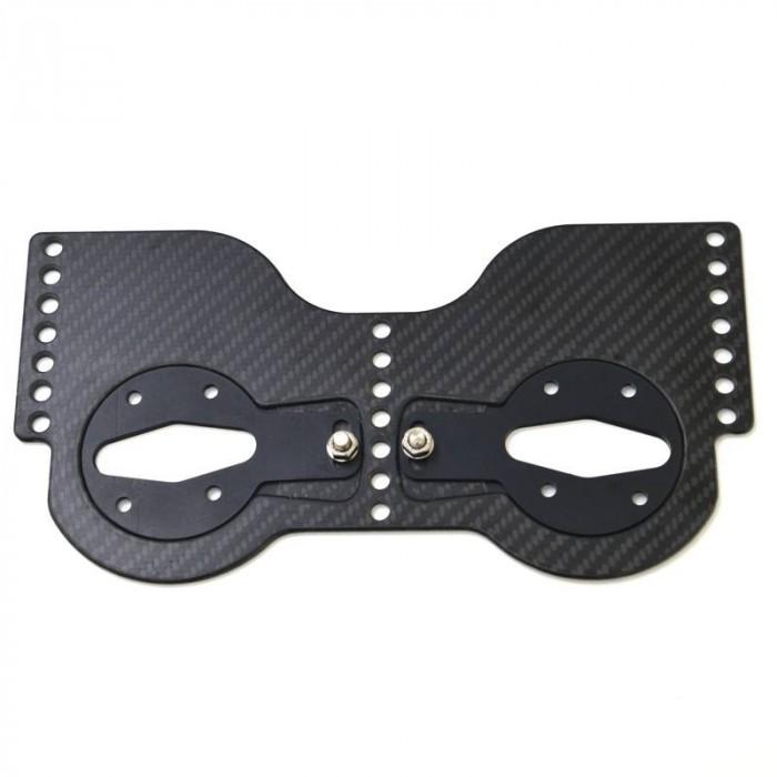 Empacher Carbon-Schuhplatte mit Winkelverstellung