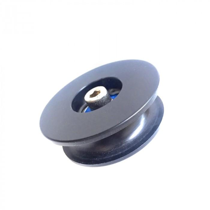 Kugellagerrad Ø33mm schwarz