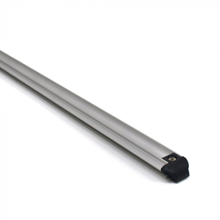 Aluminium sliding, Blank geanodiseerd