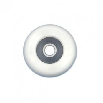 Kugellagerrad Ø34 mm. Weiß, für Kugellagerrollsitz in Ruderboote