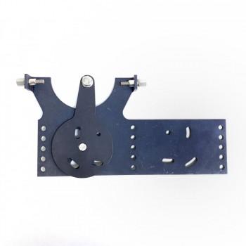 Steuerschuhplatte für H2Row Ruderschuhe links