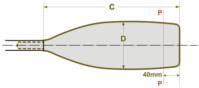 Braca Macon blade dimensions